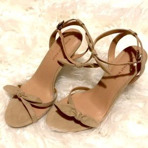 Who What Wear Size 8 Tan bow heels nwot